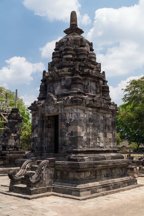 Candi Lumbung im Prambanan-Tempelkomplex, Java, Indonesien lizenzfreie stockbilder