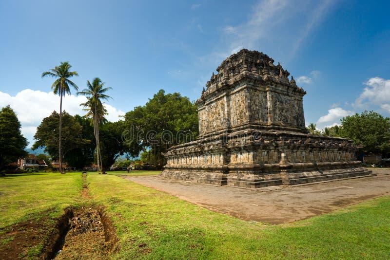 Candi Mendut, Yogyakarta, Indonesia. fotografía de archivo