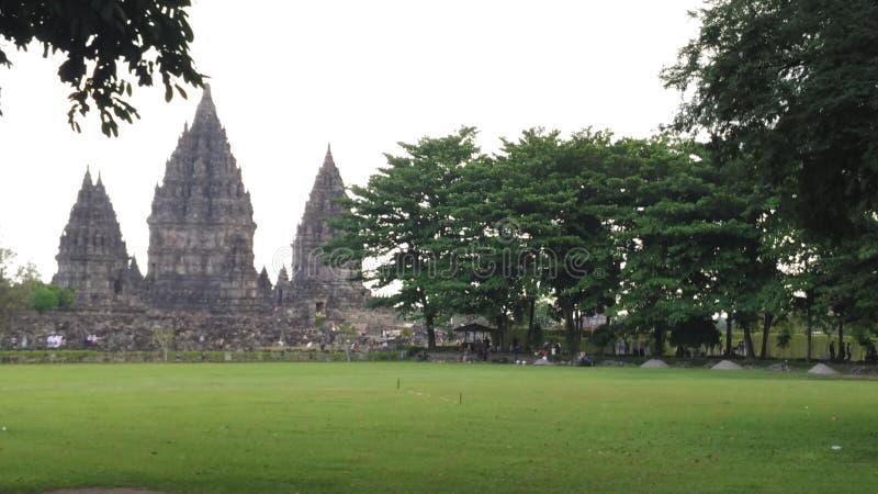 Candi Prambanan fotografía de archivo