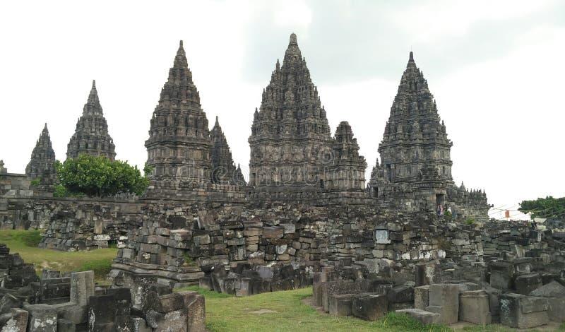 Candi Prambanan fotos de archivo libres de regalías