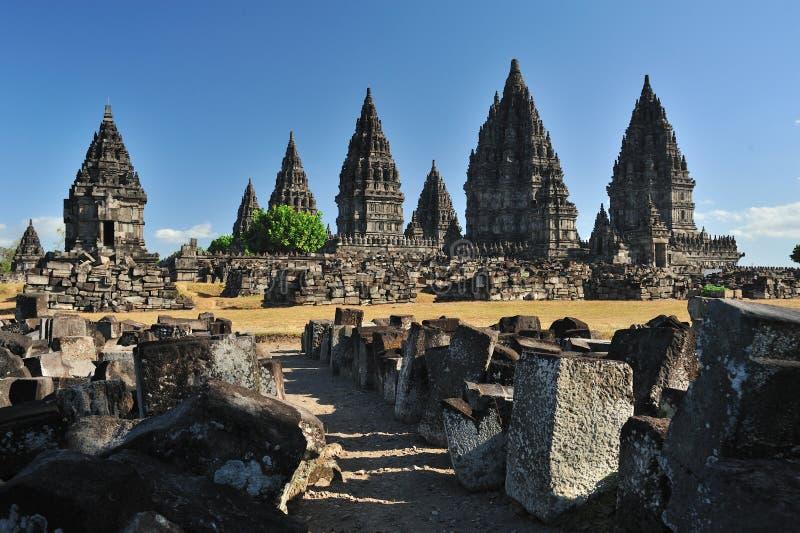 Candi Prambanan imágenes de archivo libres de regalías