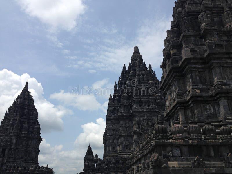 Candi Prambanan imagenes de archivo