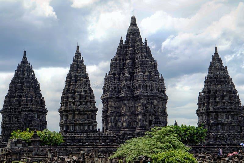 Candi Prambanan стоковое изображение rf
