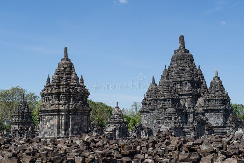 Candi Sewu Temple, Yogyakarta, Indonesien 2 lizenzfreie stockfotografie