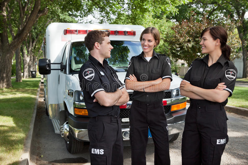 Download Candid EMS Professionals stock photo. Image of person - 22600844