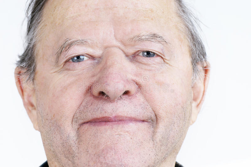 Download Candid Portrait Of Senior Man Stock Photo - Image: 28000192