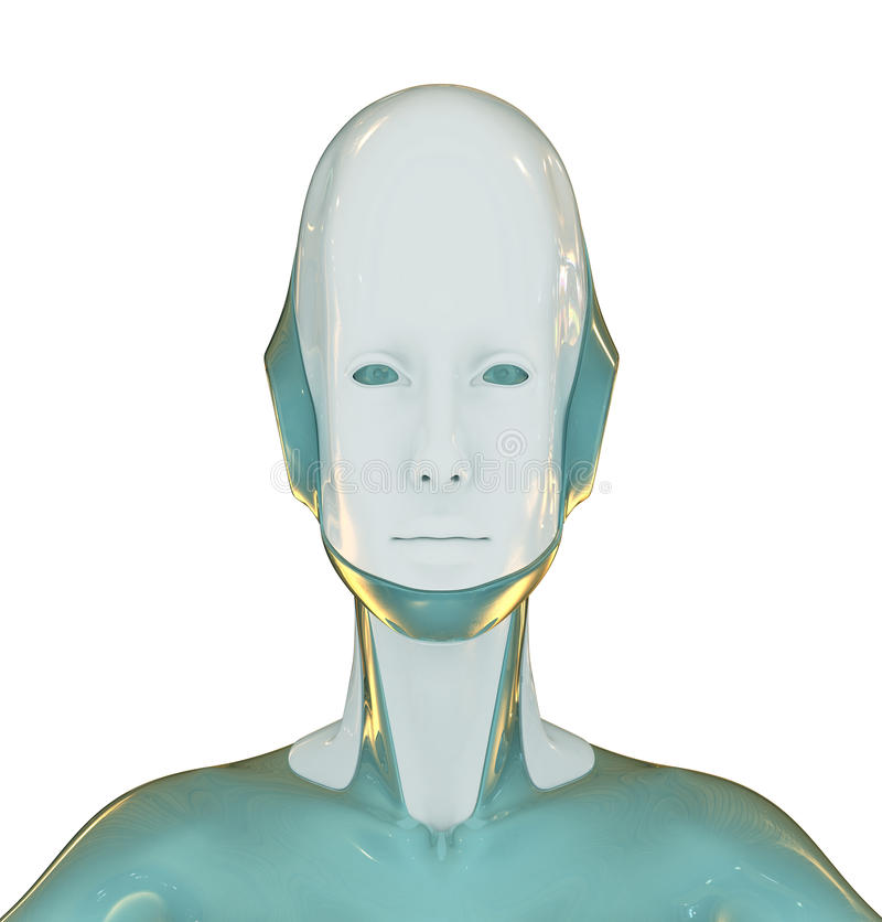 Download Candid robot stock illustration. Image of cyborg, generated - 16512407