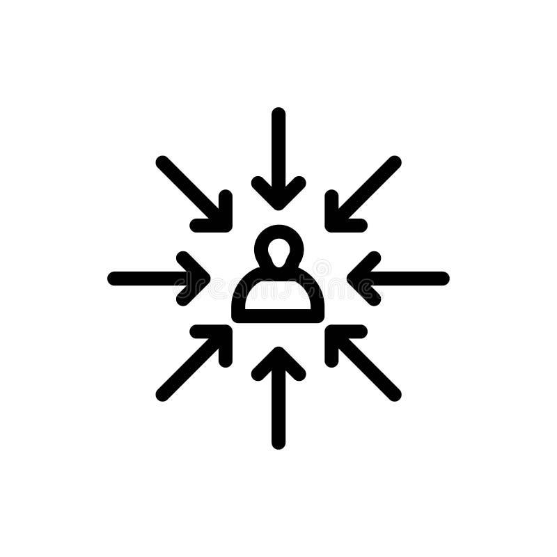 Candidat, Choix, Choisir, Focus, Sélection Téléchargement bleu et rouge et Acheter maintenant modèle de carte widget Web illustration stock