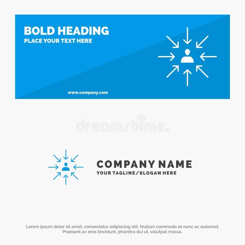 Candidat, Choix, Choix, Focus, Sélection Icône Site Web Bannière et Modèle de logo professionnel illustration libre de droits