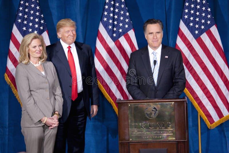 Candidat républicain à la présidentielle Mitt Romney photo libre de droits