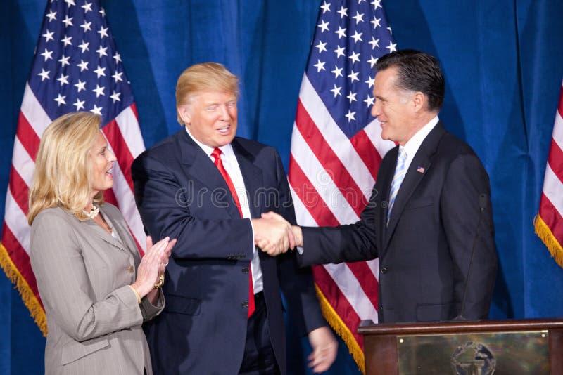 Candidat républicain à la présidentielle Mitt Romney photo stock
