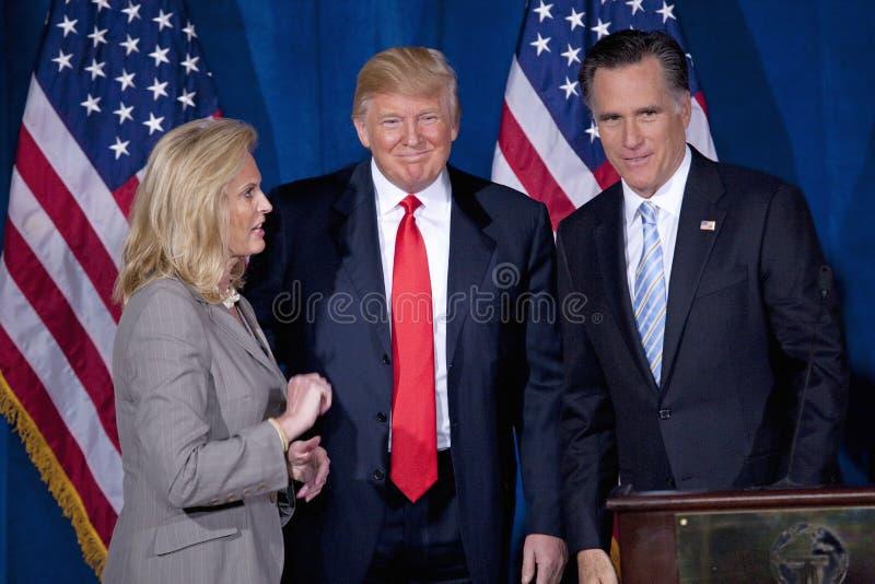 Candidat républicain à la présidentielle Mitt Romney images stock