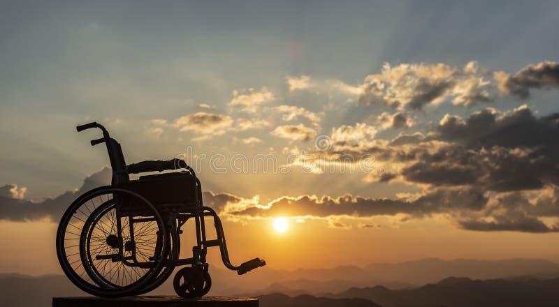 Candidato discapacitado, libertad, vida sana y tristeza foto de archivo libre de regalías