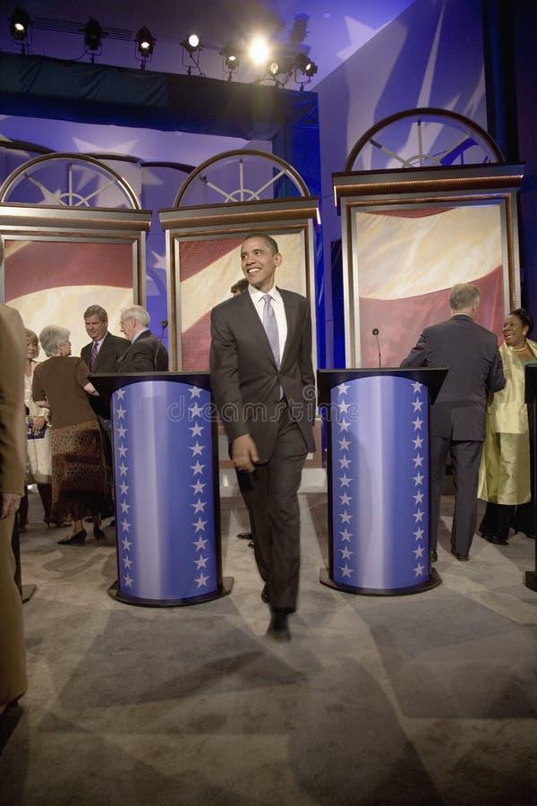 Candidato presidencial Barak Obama fotos de stock royalty free