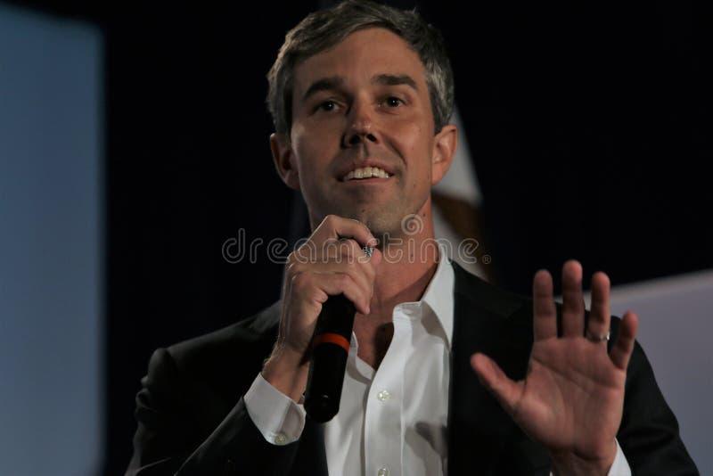 Candidato presidencial Beto O ?Rourke fotografia de stock