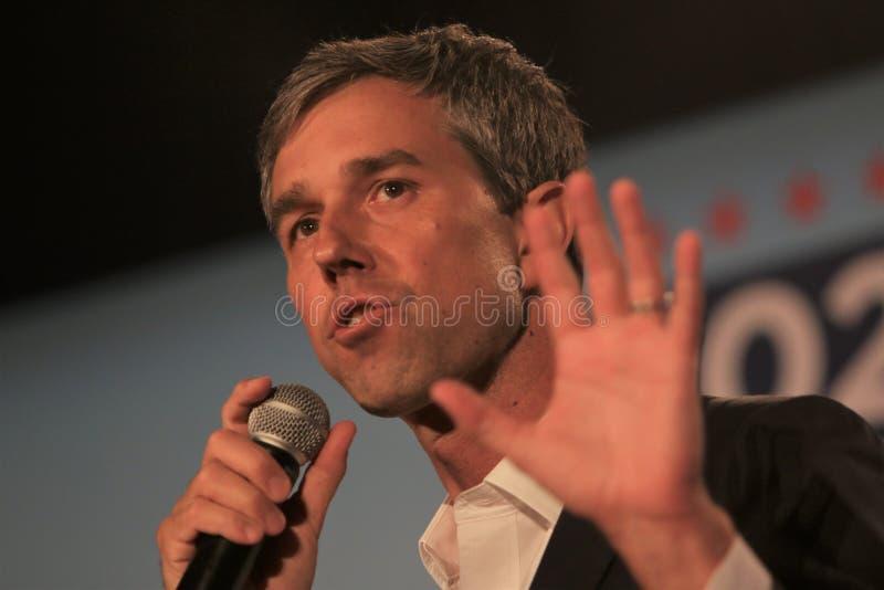 Candidato presidencial Beto O ?Rourke fotos de stock royalty free
