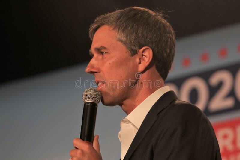 Candidato presidencial Beto O ?Rourke imagens de stock