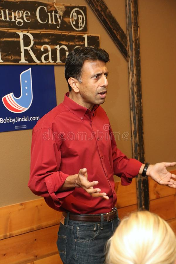 Candidato presidencial Bobby Jindal foto de stock royalty free