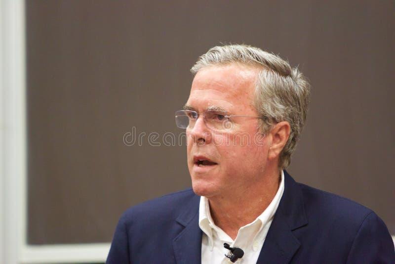 Candidato presidencial Jeb Bush fotos de stock