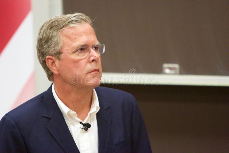 Candidato presidencial Jeb Bush foto de stock royalty free