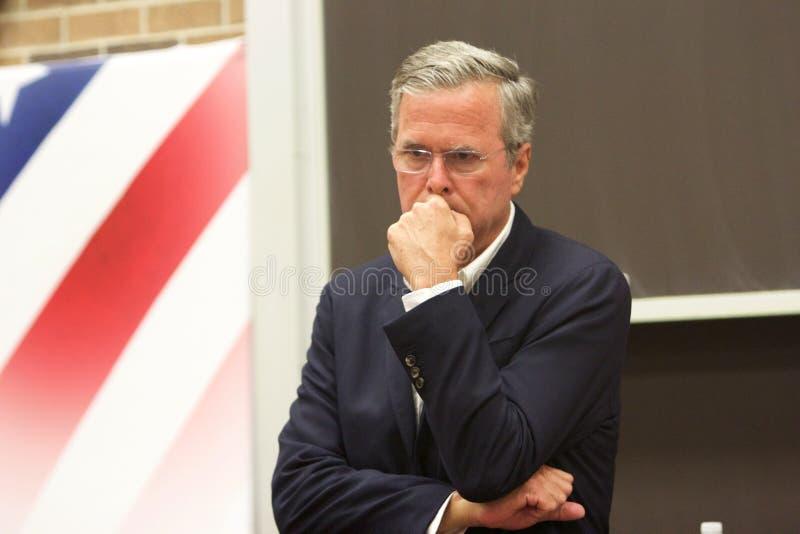 Candidato presidencial Jeb Bush foto de stock