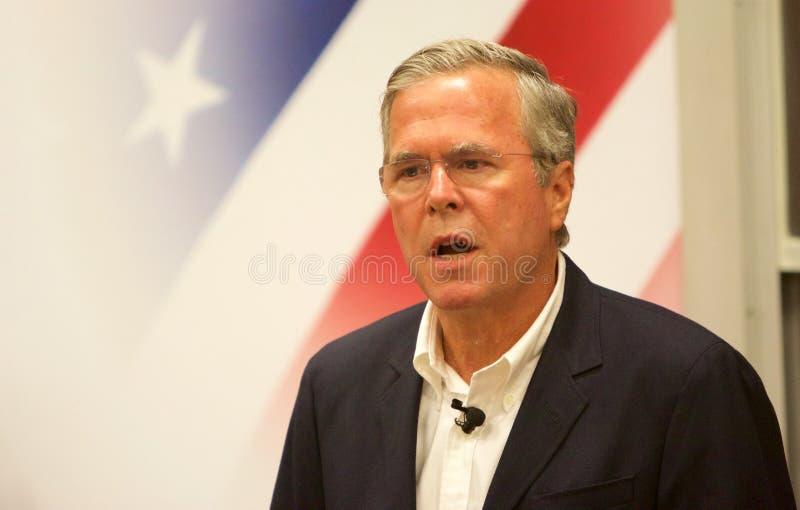 Candidato presidencial Jeb Bush fotografia de stock