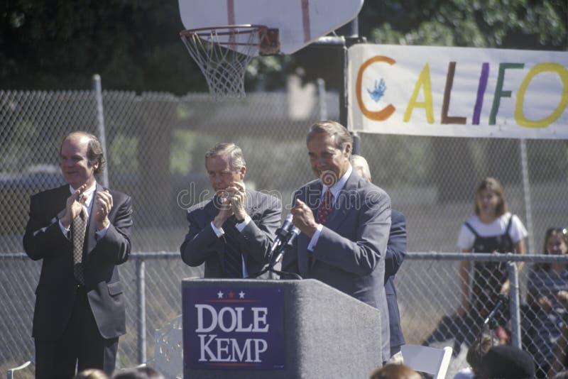 Candidato presidencial republicano Bob Dole imagen de archivo