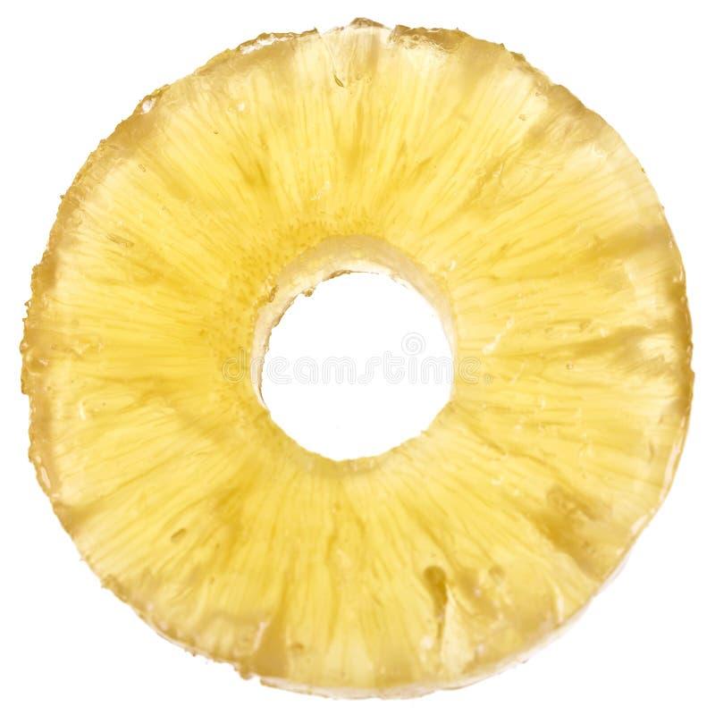 Download Candied кусок ананаса стоковое фото. изображение насчитывающей yellow - 81800776