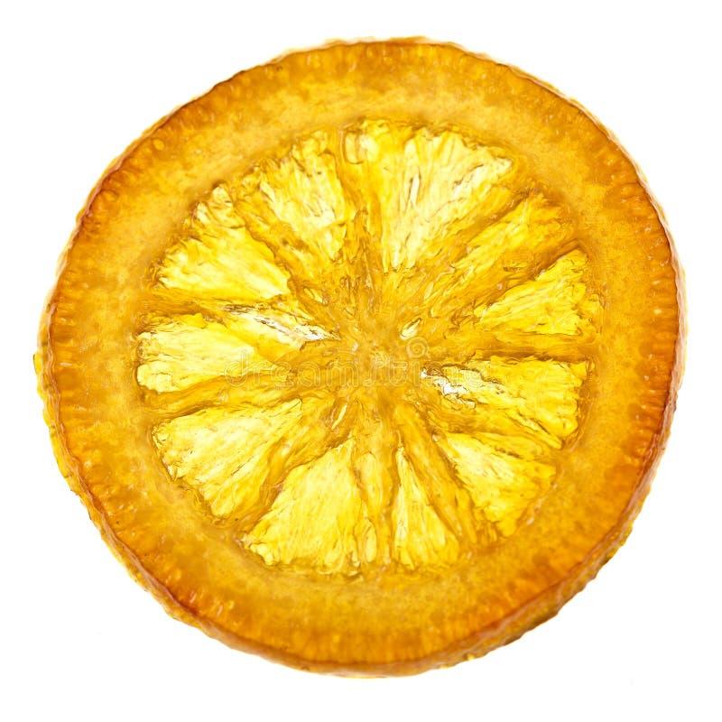 Download Candied оранжевый кусок стоковое изображение. изображение насчитывающей глюкоза - 81800623