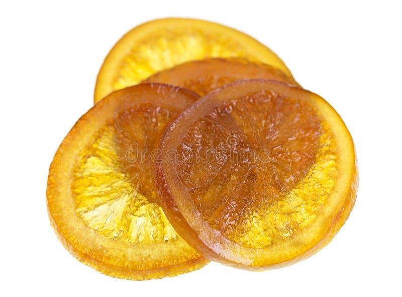 Download Candied оранжевый кусок стоковое фото. изображение насчитывающей глюкоза - 81800698