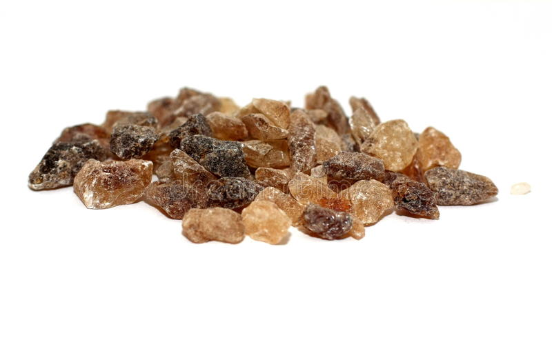 Candied brown sugar royalty free stock photos