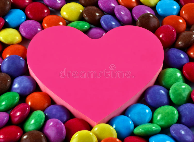 Download Candy and heart stock image. Image of sugar, flavor, sugarcoated - 30873685