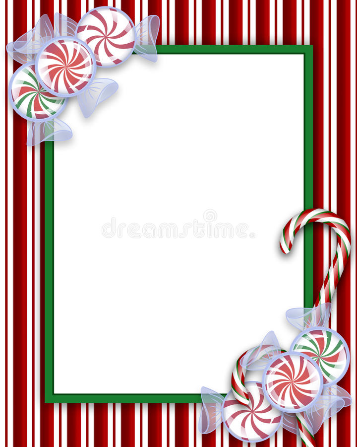 Download Candies Frame stock illustration. Image of colours, green - 11592248