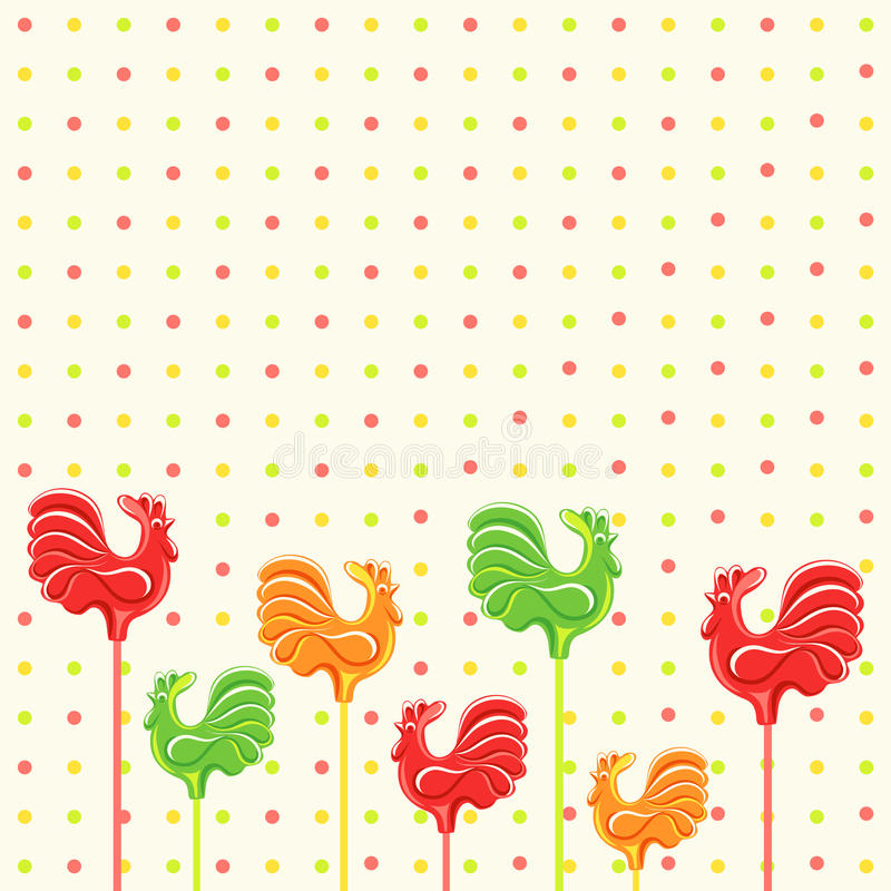 Candies lollipop royalty free stock photo