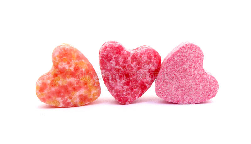 Candies Sweet Hearts Confectionery Royalty Free Stock Image