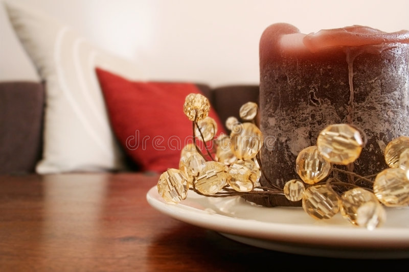 Download Candle stock image. Image of bead, beads, decor, cushions - 1415023