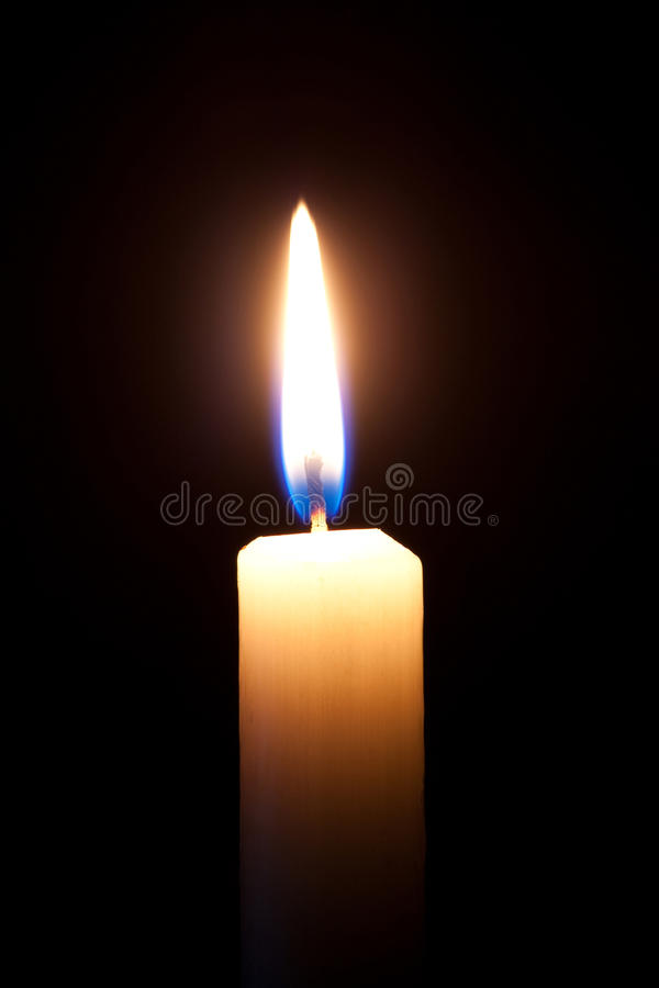 Download Candle stock photo. Image of bright, flame, paraffin - 14403232