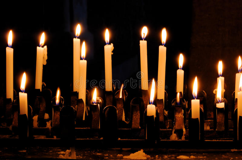 Download Candle stock photo. Image of christmas, glowing, black - 14852324