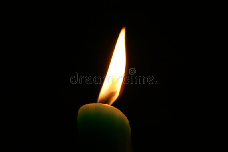 The Candle royalty free stock photography