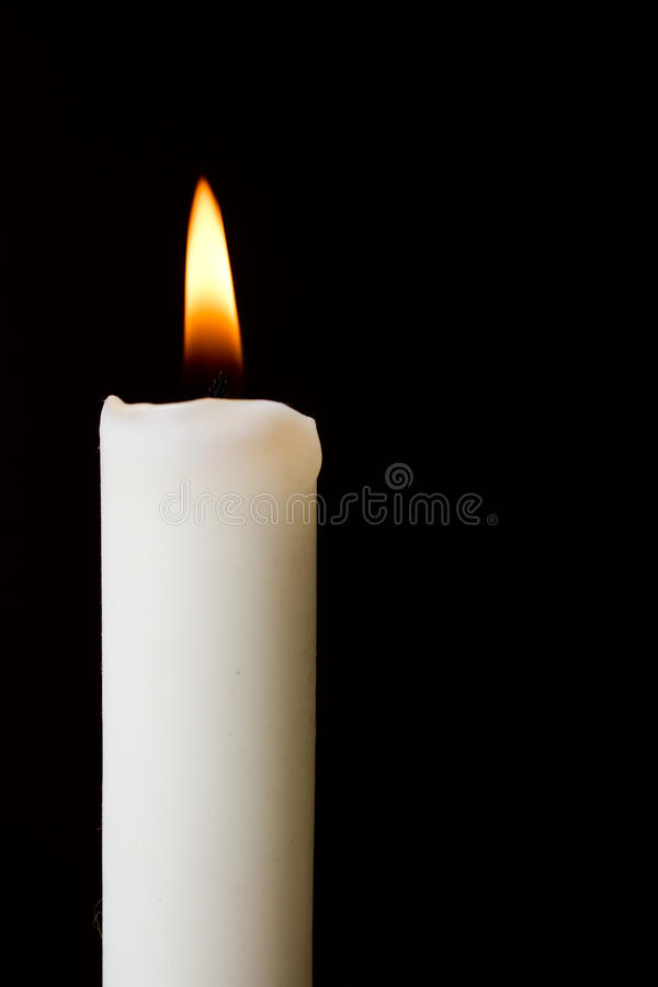Download Candle stock image. Image of white, candle, flame, wick - 18757119