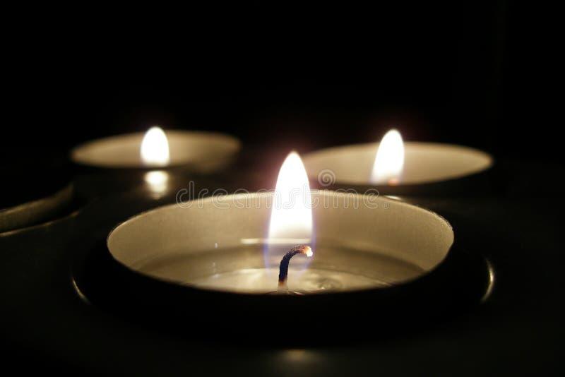 Candle stock illustration