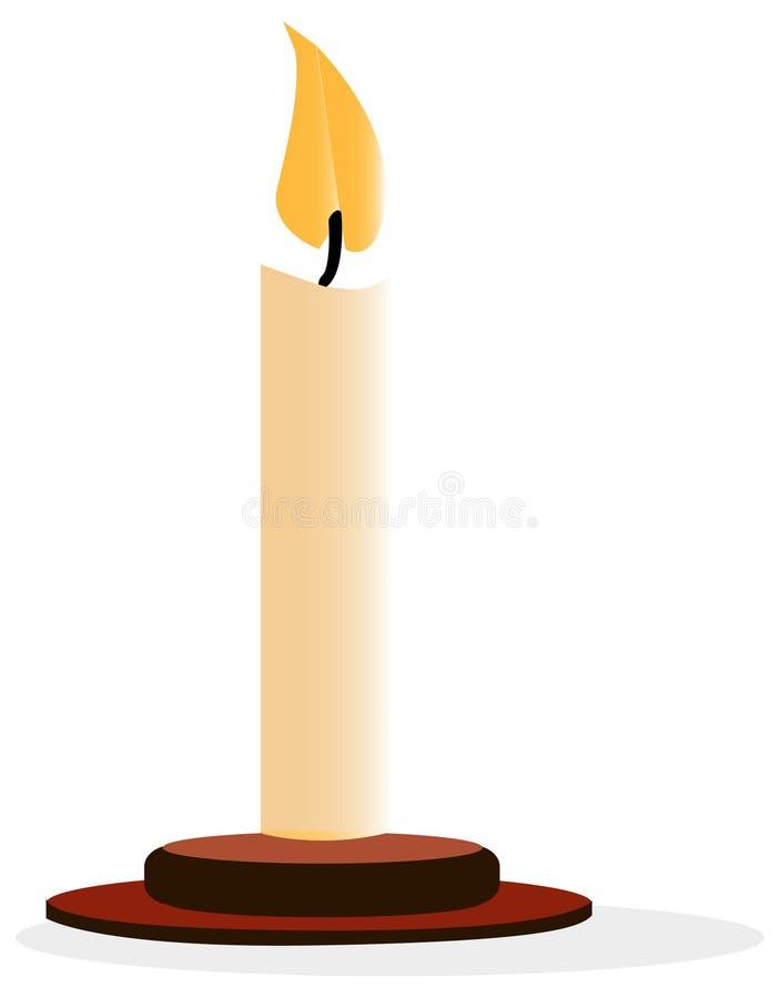 candle vektor illustrationer