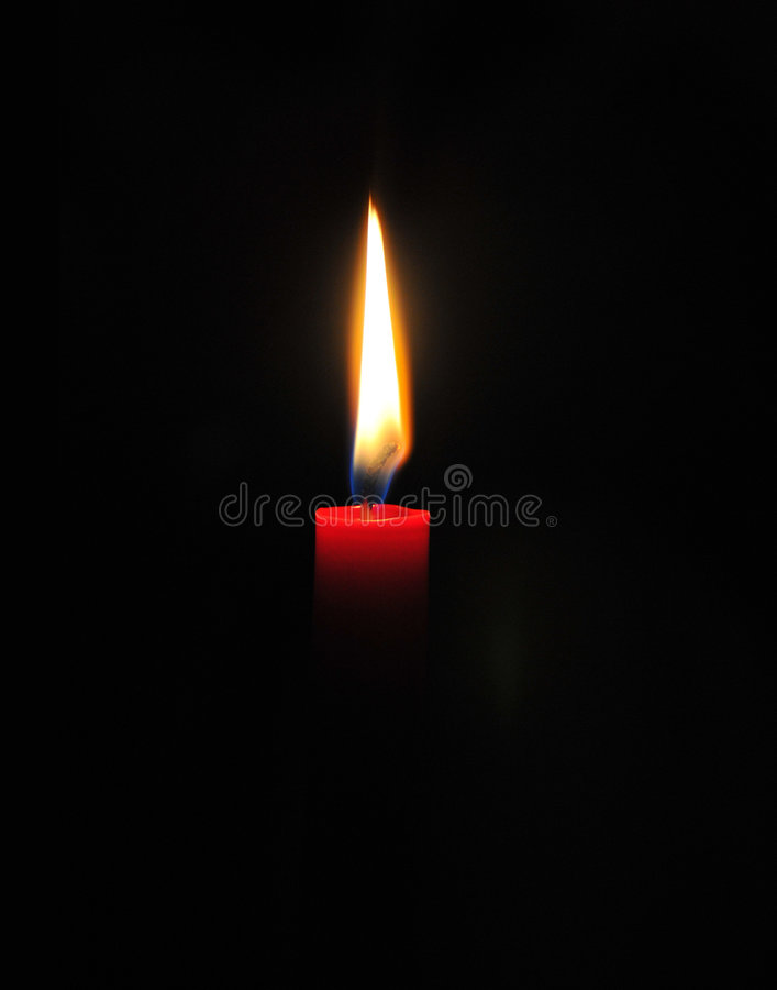 CANDLE. The candle in the temple stock photos