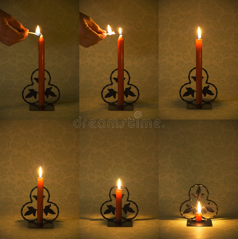 Download Candle Burning Down Royalty Free Stock Image - Image: 6757056