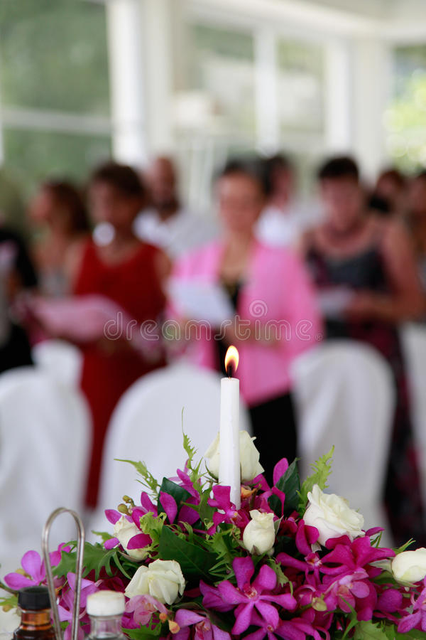 Download Candle Burning Inside A Church. Stock Photo - Image: 24839854