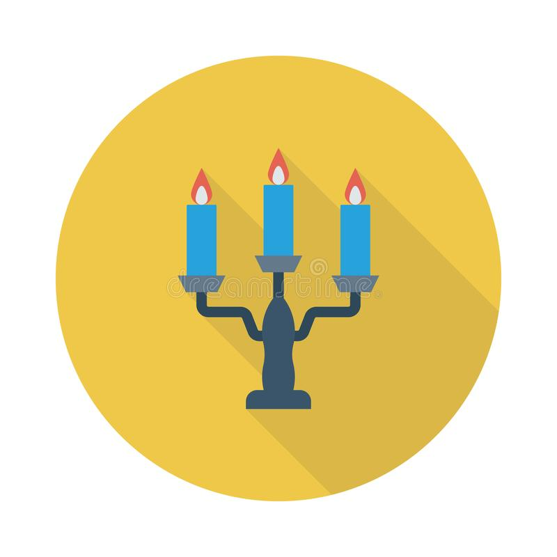 Candle royalty free illustration