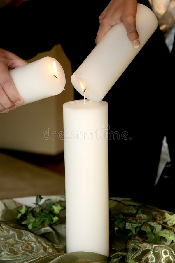 Candle Cer stock photo
