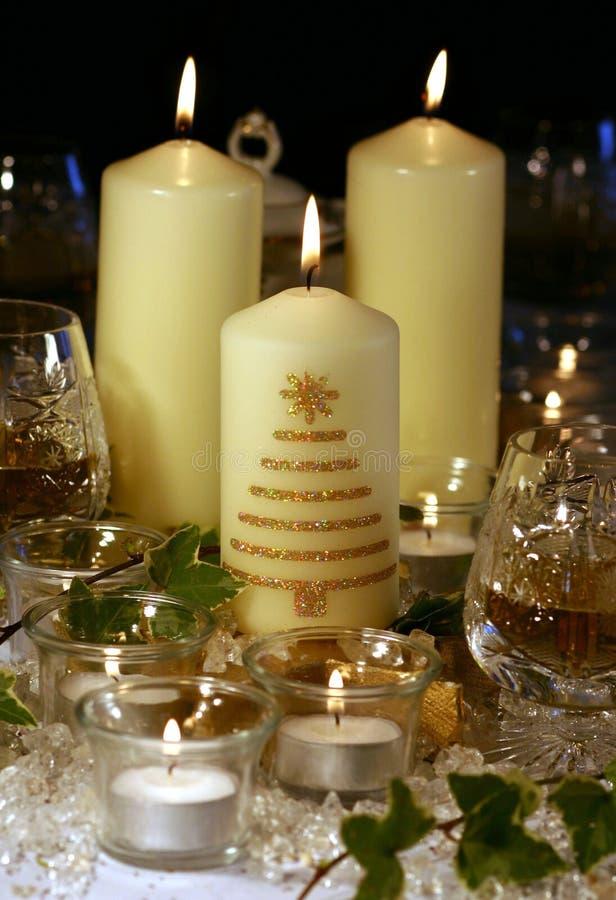 Candle a cera imagem de stock royalty free