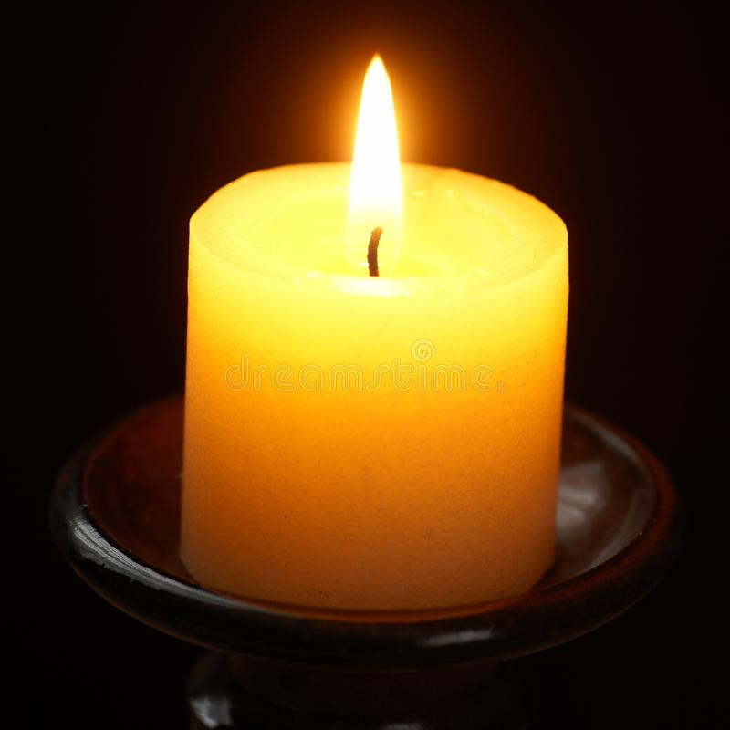 Download Candle stock image. Image of dark, wick, macro, spirituality - 32582787