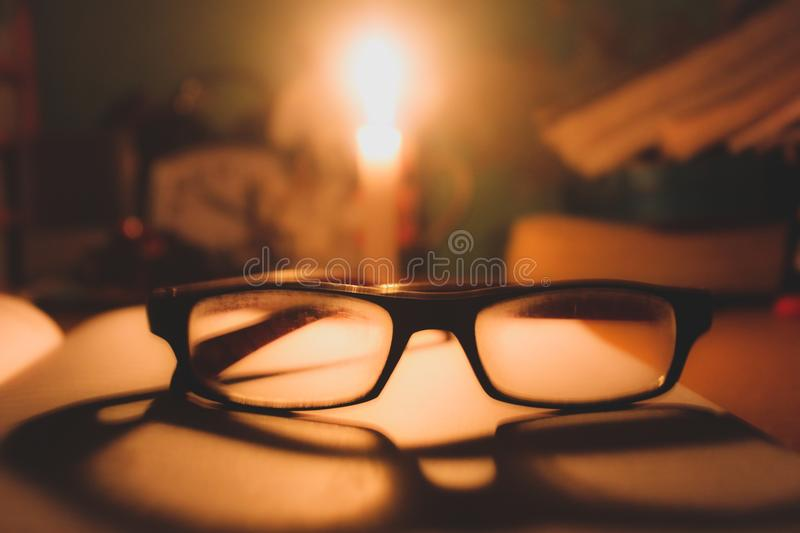 Candle. Feature of Photography.its show some sadness & emotions to the people who are upset royalty free stock photography
